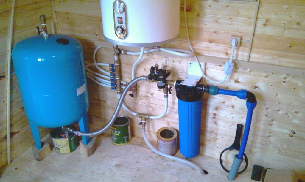 подача воды из скважины в дом оборудование