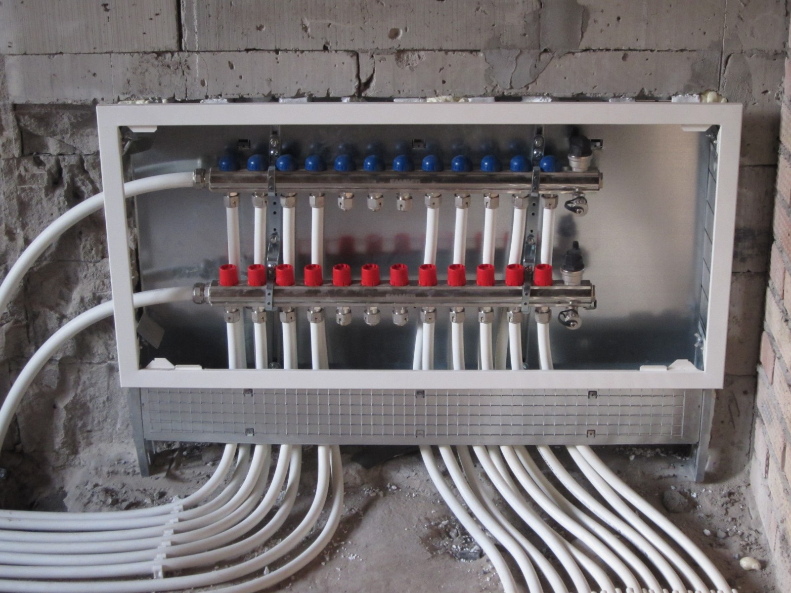 Технология монтажа отопления