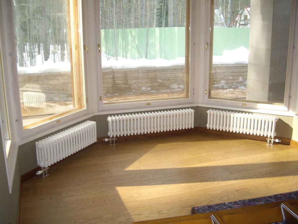 Радиатор Arbonia с нижним подключением