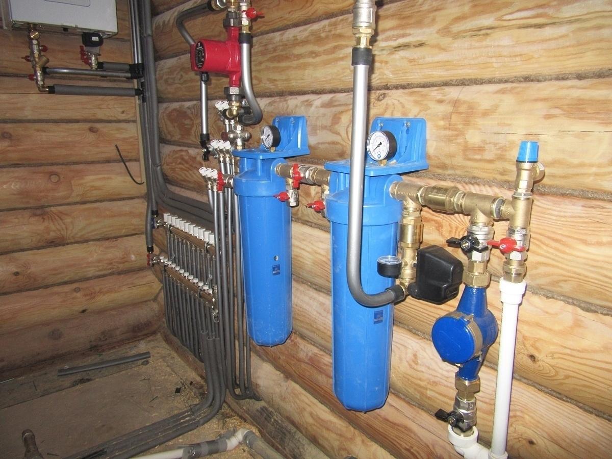Водопровод в загородном доме своими руками 89